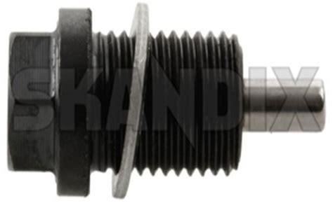 skandix shop volvo parts oil drain plug oil pan magnetic  seal ring  oil drain plug