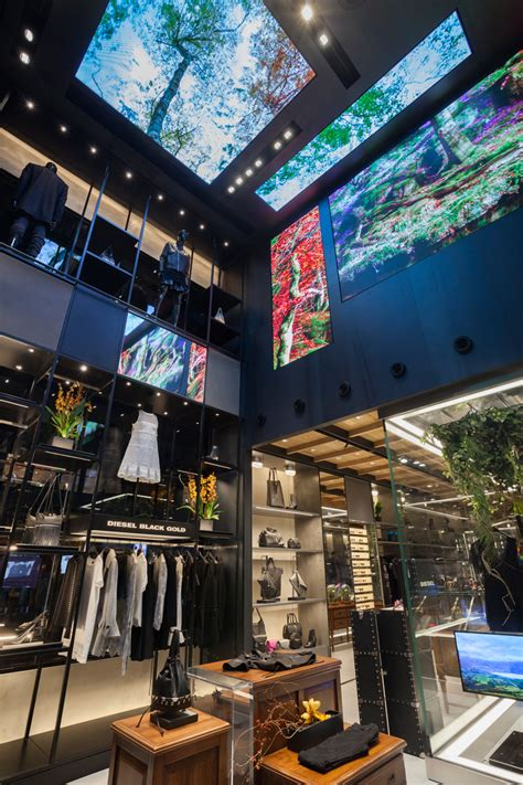 definition design llc nyc new york diesel store by wonderwall masamichi katayama