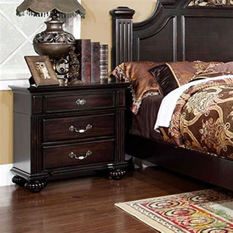 bedroom furniture syracuse ny syracuse traditional dark walnut bedroom set with sturdy