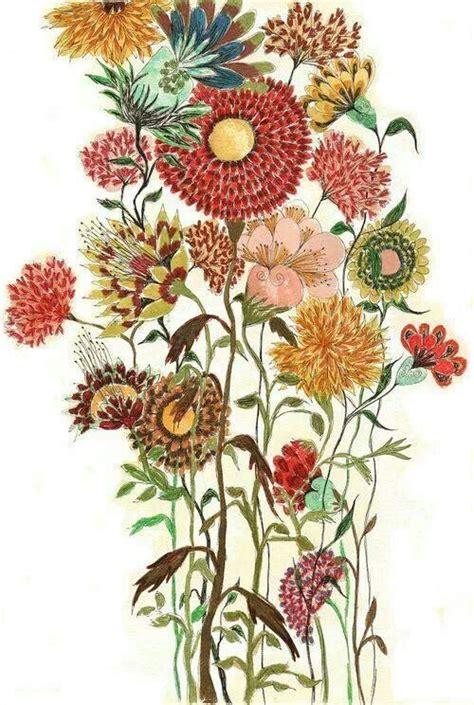 Pattern Arrangement In Art   pretty floral arrangement tattoo inspiration