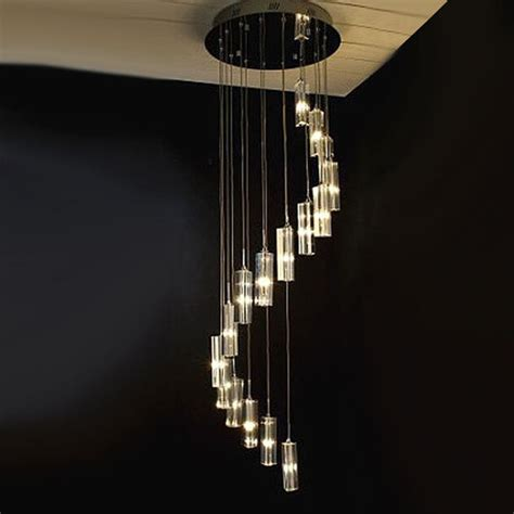 modern lighting fixtures modern stair chandelier 7372 free ship browse