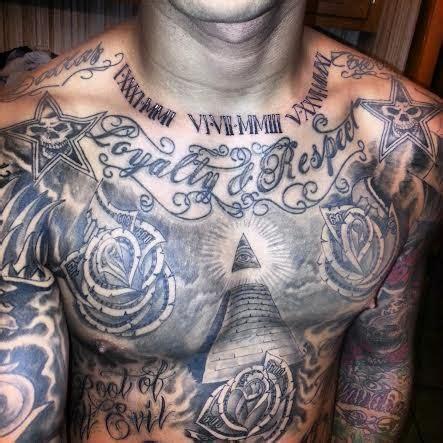 dope chest tattoos 1000 ideas about illuminati on all
