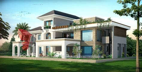 3d rendering architectural rendering house ajmer 3d power