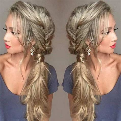 everyday hairstyles relaxed hair 15 cute easy hairstyles for long hair 2016 2017 on