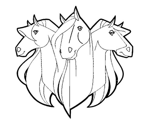 coloring pictures of horses heads coloring pages picgifs