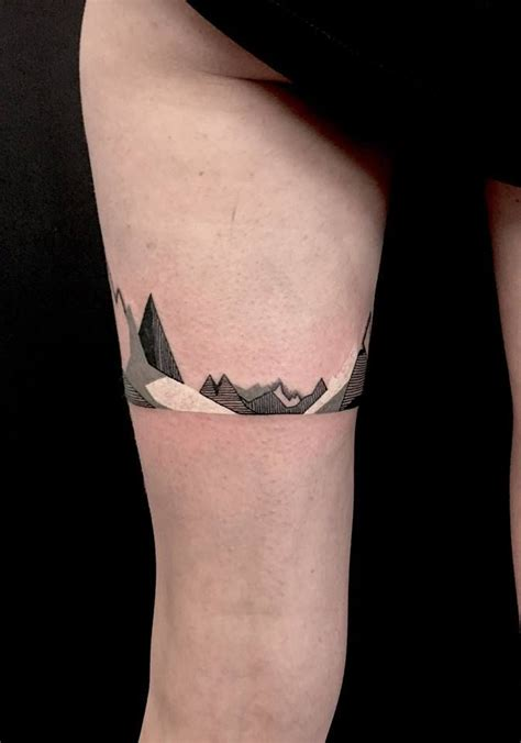minimalist mountain tattoo geometric mountain minimalism mountain tattoos