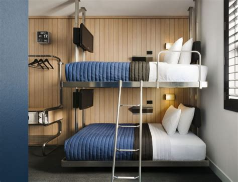 Custom Bunk Beds Nyc Hotels Are Adding Bunk Beds Mainly For Adults To The Mix Toronto
