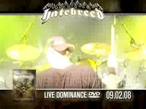 Hatebreed Live Dominance 2008 hatebreed live dominance cotidiano fc