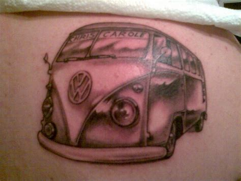 vw tattoo volkswagen vw cervan kombi ink