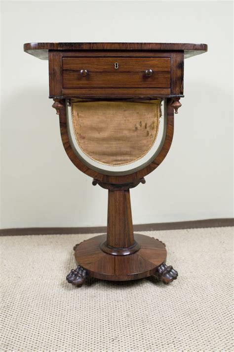 pedestal works rosewood pedestal work table antiques atlas