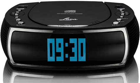 lava bedsidecd alarm clock dab dab digital fm radio with cd player dual al ebay