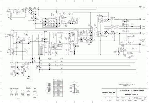 Power Supply Xbox360 200 250v eletr 212 nica do papai noel esquemas de fonte de computador