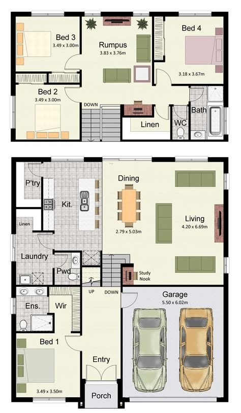 floor plans for sloping blocks 1000 images about hotondo homes home designs on pinterest