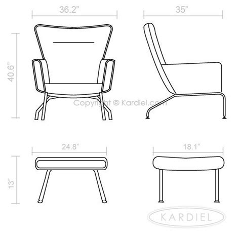 Chair Dimensions by Wing Chair Dimensions Repurposed Furniture