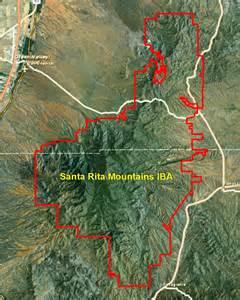 santa mountains iba 187 arizona important bird areas