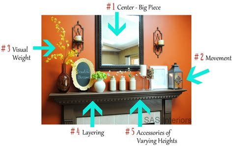 How To Decorate Showcase by How To Decorate A Mantel Burger