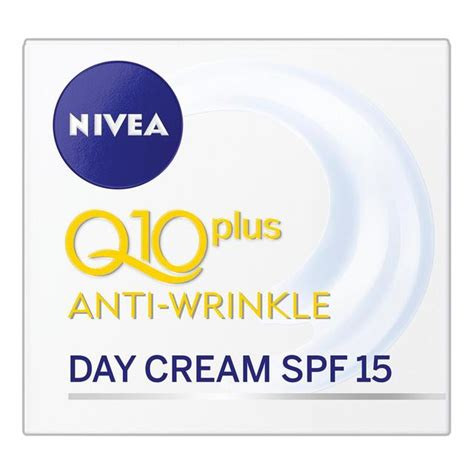 nivea visage anti wrinkle q10 plus day 50ml from ocado