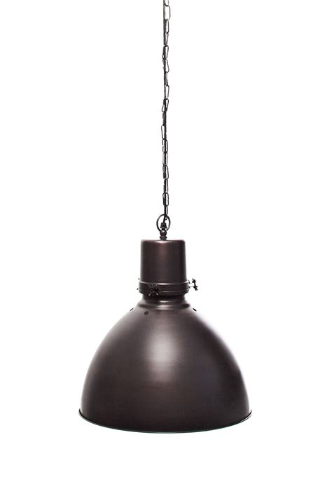 Spun antique copper pendant light lighting french connection