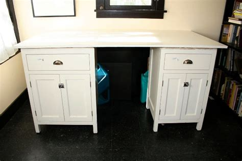 Diy Sewing Desk A Cheap And Easy Diy Sewing Cutting Table Root Simple