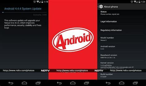 android 4 4 4 update android 4 4 4 kitkat update now rolling out to nexus devices in india technology news