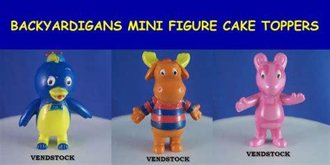 Backyardigans Figures 3 New Backyardigans Mini Figure Cake Toppers Pablo Tyrone