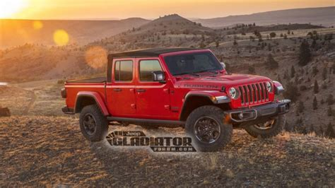 When Will 2020 Jeep Wrangler Be Available by 2020 Jeep Gladiator Truck Images Official Specs