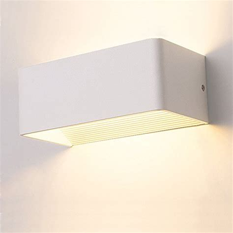 apliques de pared interior aplique led de interior estilo moderno color blanco