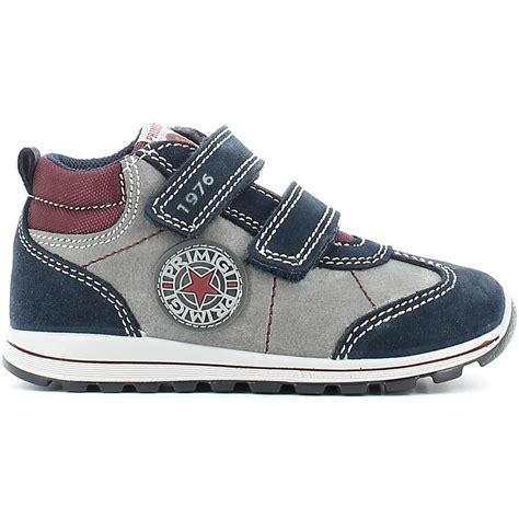 kid sport shoes hi top trainers primigi 4546 sport shoes kid grigio