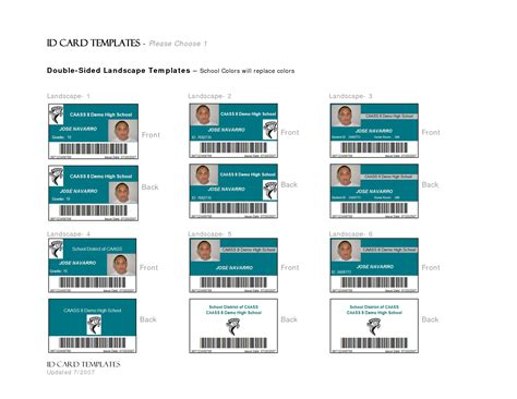 free ms word id card template the gallery for gt secret badge printable