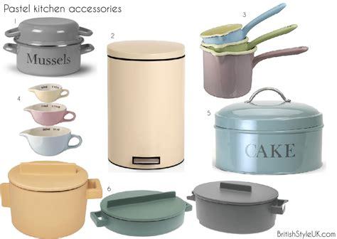 Kitchen Accesory by Pastel Kitchen Accessories Britishstyleuk