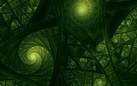 wallpaper fractals green  abstract