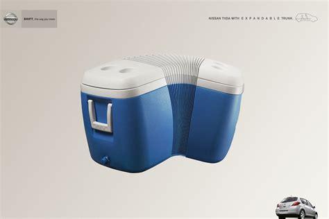 best ad print ad nissan cooler