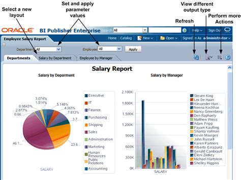Report Template Viewer Viewing A Report