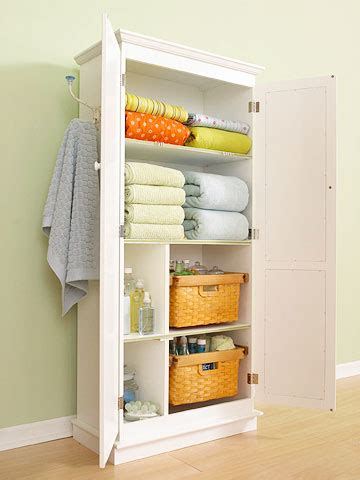 tips of using linen closet organizers ideas advices