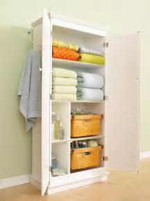 Bathroom Linen Storage Ideas by Linen Closet In A Bathroom