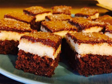 kokos schoko kuchen schokoladen kokos kuchen mina111177 chefkoch de