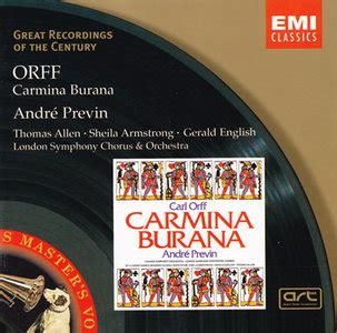 Author Burana by Carl Orff O Fortuna
