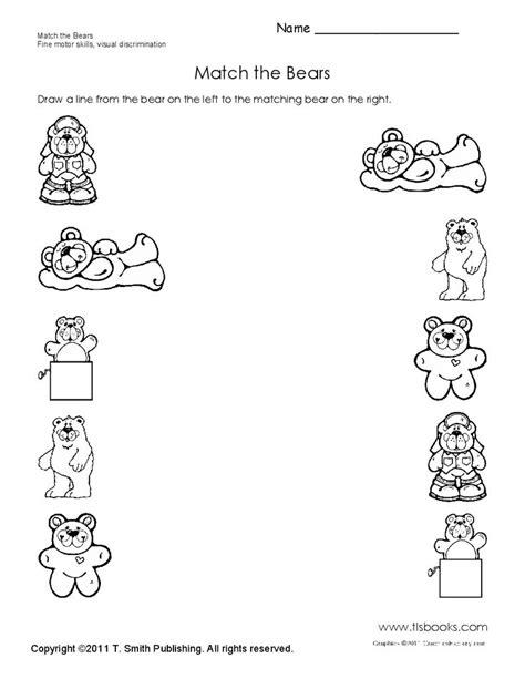 Hibernation Worksheets by Color Worksheets For Preschoolers Hibernation Color Best