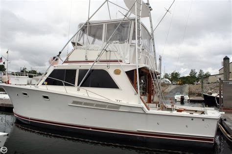jersey sport fishing boats 1985 used jersey 40 dawn sports fishing boat for sale