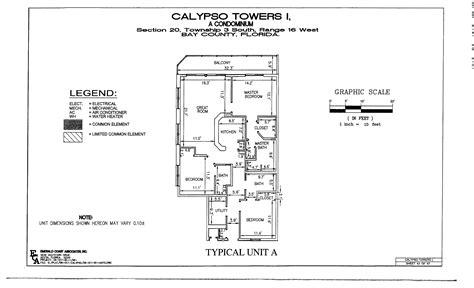 calypso panama city beach floor plans calypso floor plans