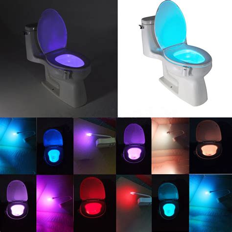 night light for bathroom 1pc bathroom motion activated cordless toilet seat led