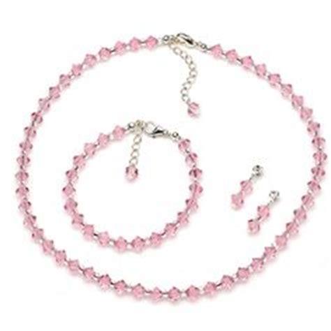 potomac bead company medina ohio genuine swarovski wedding jewelry set white freshwater