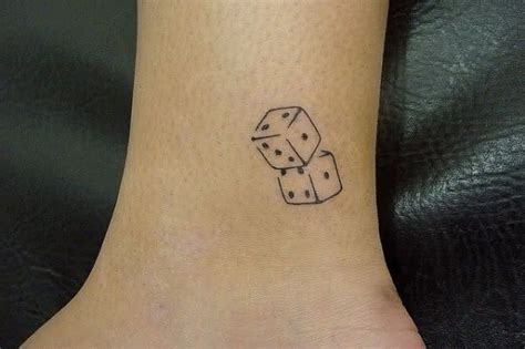 fotos de tatuagem de dados fotos de tatuagens