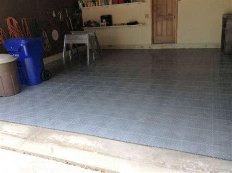 Garage Resurfacing by Interlocking Floor Tiles On Concrete Floor Skv Construction