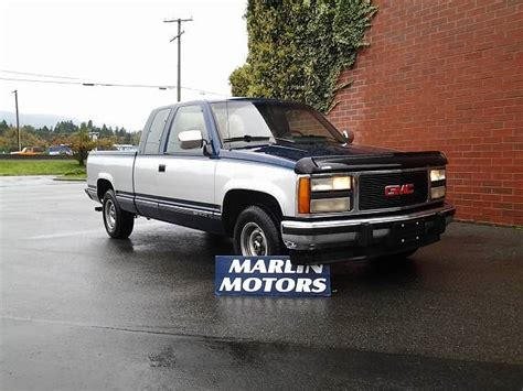 how cars run 1993 gmc 1500 club coupe user handbook 1993 gmc sierra 1500 club coupe 6 5 ft bed 2wd blue marlin motors wheels ca