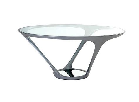 furtif desk is a striking futuristic piece of furniture ora ito round dining table by roche bobois design is this