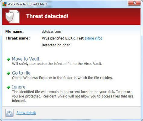 eicar test test your antivirus with the eicar test file