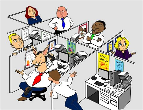 dilbert office gossip funny farewell co worker clipart