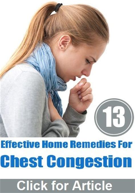 1000 ideas about chest congestion on