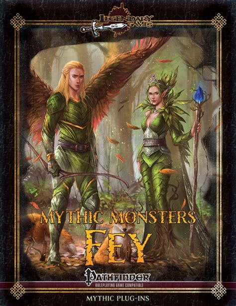 Mythic Monsters Fey Volume 48 mythic monsters 48 fey legendary